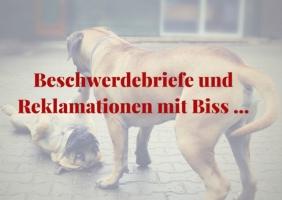 Beschwerdebriefe und Reklamationen - www.briefmeisterin.de